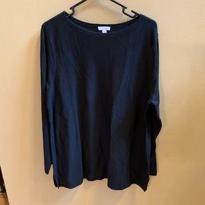 JJill lightweight tunic sweater